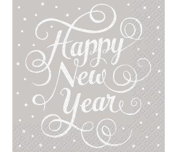 Servietten 30x30cm | Happy New Year