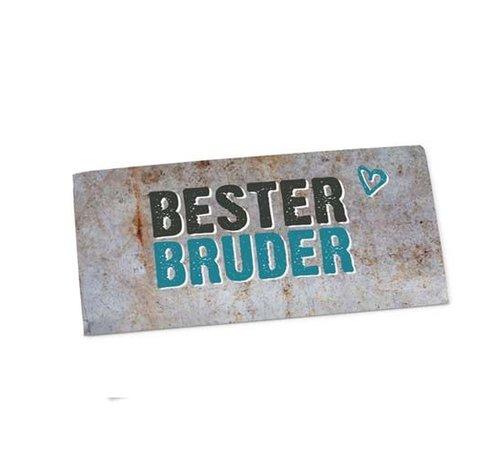 Tafelschokolade | Bester Bruder | Geschenkidee