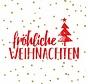Servietten | Weihnachten Rot | 100% Tissue