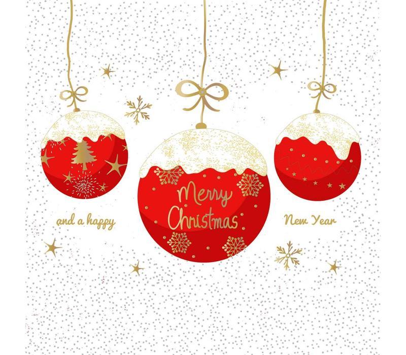 Servietten | A Very Merry Christmas red | 100% Tissue