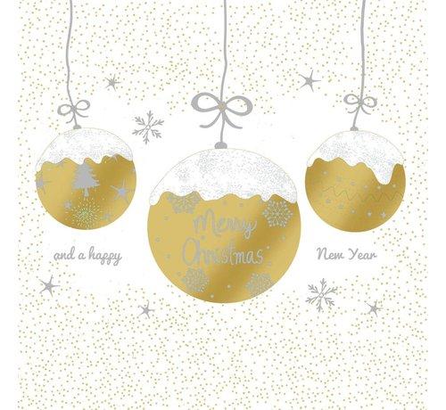 Servietten | A Very Merry Christmas gold | 100% Tissue