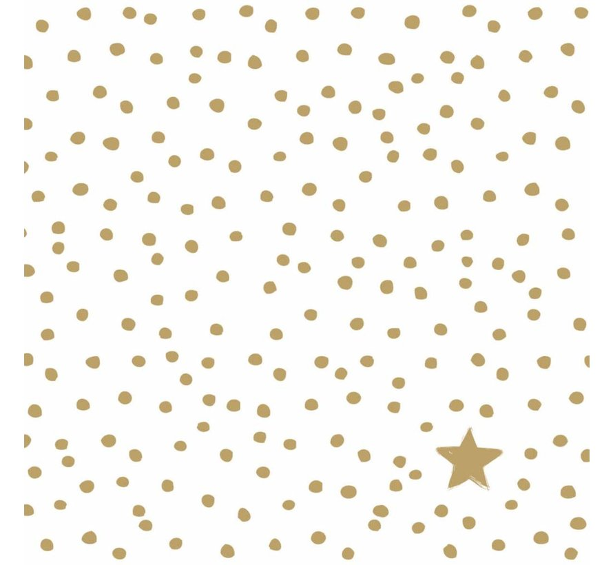Servietten | The Star Money gold | 100% Tissue