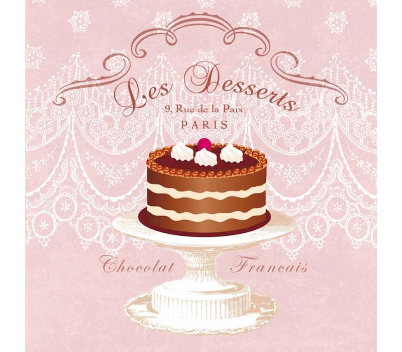 Servietten | Les Desserts | 100% Tissue