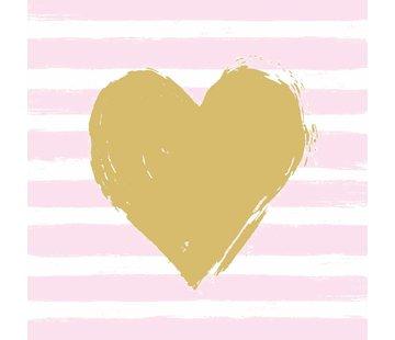 Servietten | Heart & Stripes | 100% Tissue