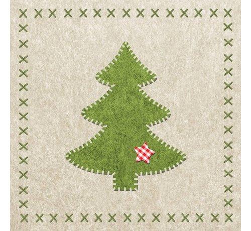 Servietten | Felt Xmas Tree | 100% Tissue