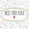 Servietten | Best Mom Ever | 100% Tissue