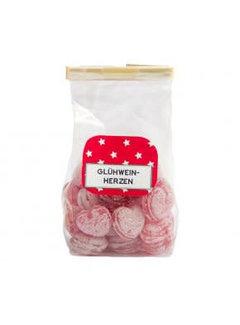 Glühweinherzen Bonbons | 100g