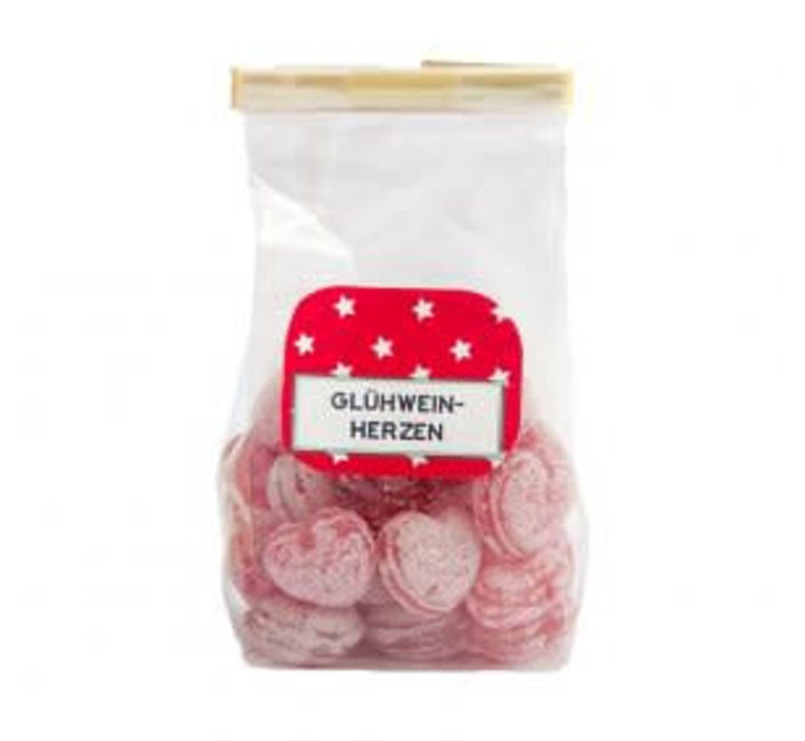 Glühweinherzen Bonbons   100g