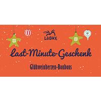 Glühweinherzen Bonbons | last Minute Geschenk | im Korkenglas