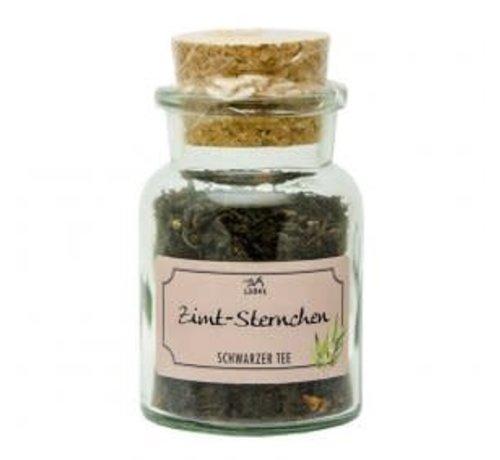 Zimtsternchen | Schwarzer Tee im Korkenglas 40g
