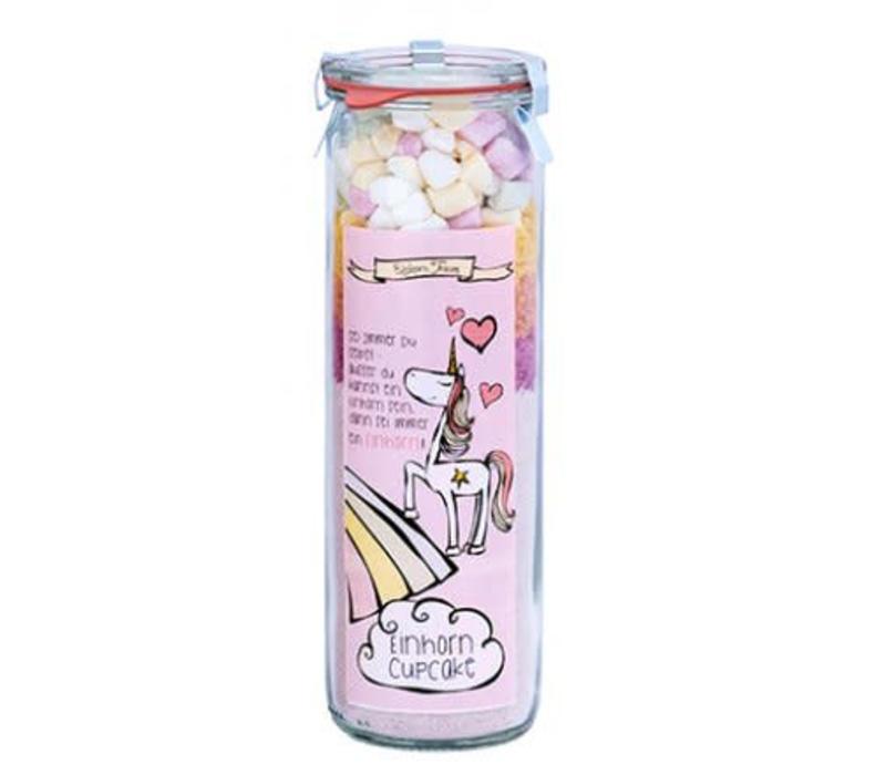 """Backmischung """"Einhorn-Cupcakes""""   Einhorn Traum Rosa"""