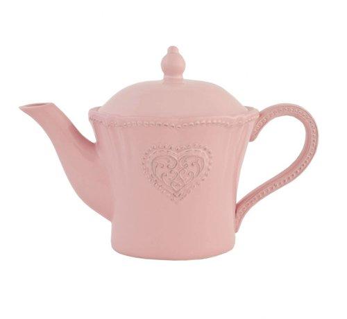 Clayre & Eef Teekanne Provence Rosa