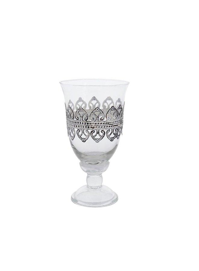 Teelichthalter Lilienrand
