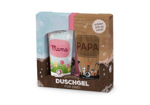 Duschgel für Zwei | Mama&Papa | Geschenkidee