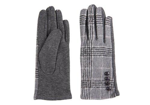 Clayre & Eef Handschuhe | Wales Grau