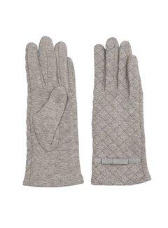 Clayre & Eef Handschuhe | Grau - Stitching pattern