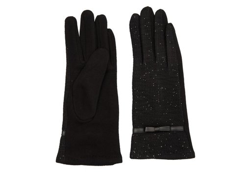 Clayre & Eef Handschuhe | Schwarz - Lurex