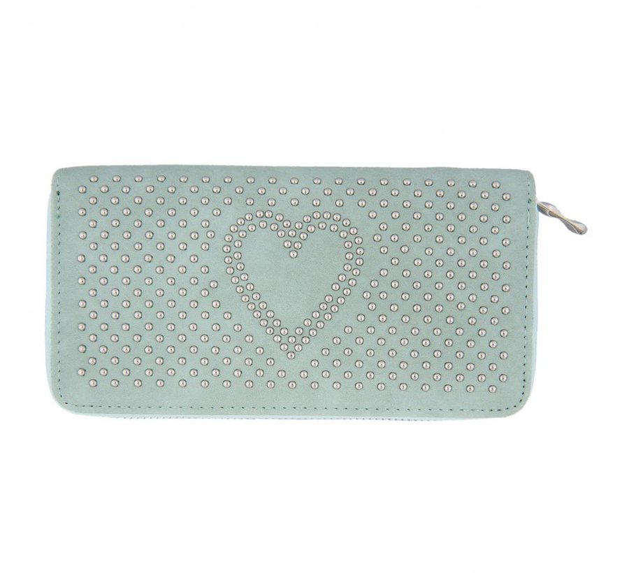 Portemonnaie - Geldbörse | Sweet heart - Grün