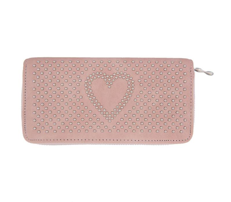 Portemonnaie - Geldbörse   Sweet heart - Rosa