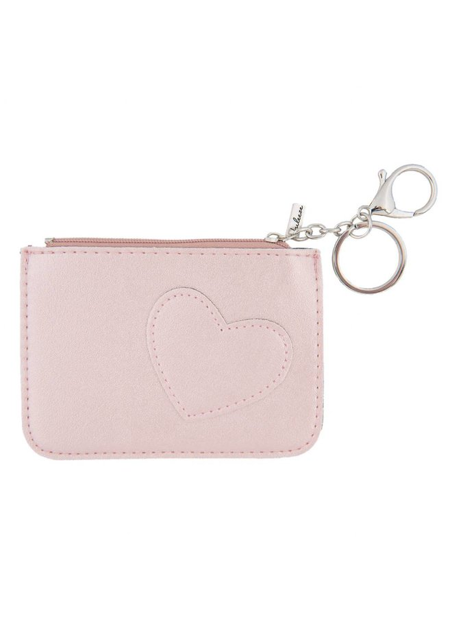 Schlüsseletui - Portemonnaie - Geldbörse | Sweet heart - Rosa
