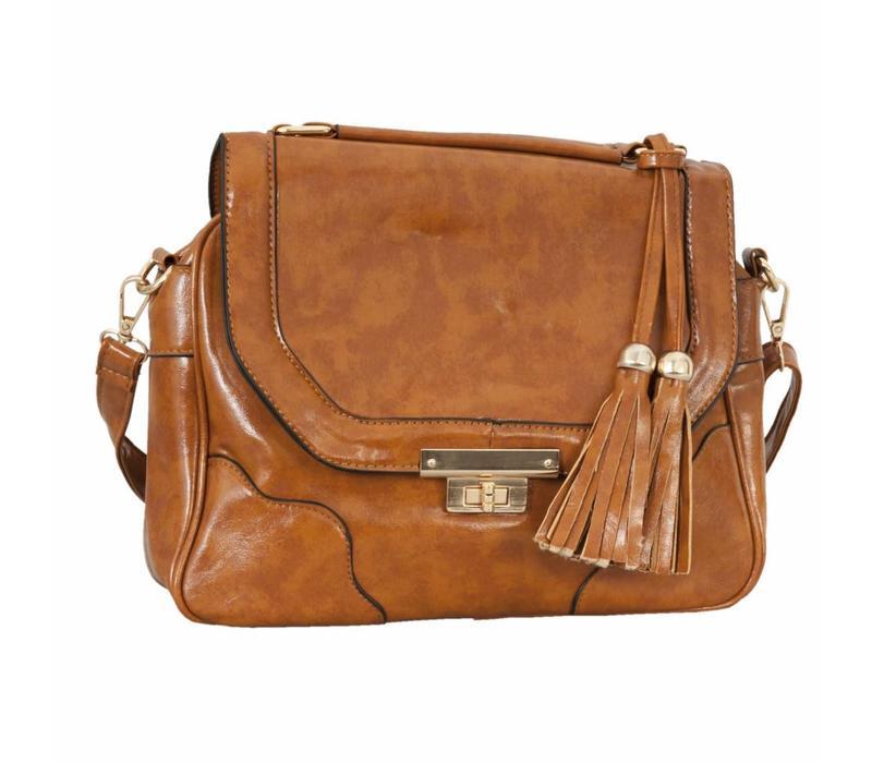 Handtasche  | Kunstleder Braun