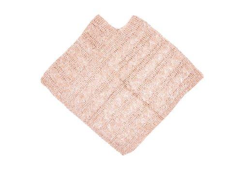 Clayre & Eef Poncho-Schal  | Rosa