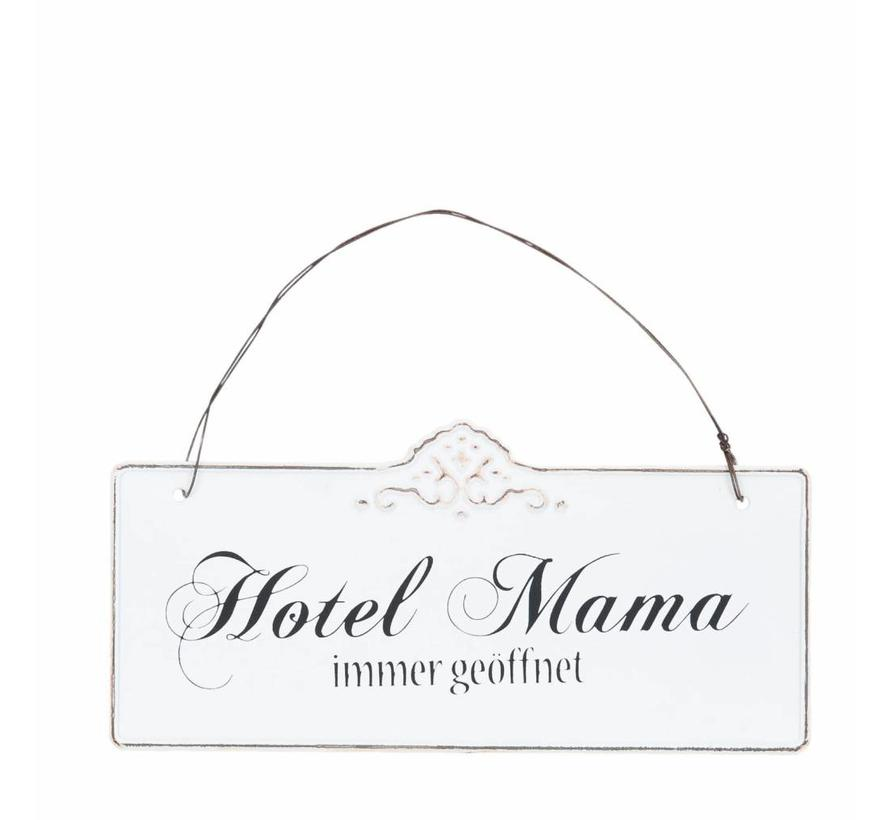Blechschild  | Hotel Mama | 21x15cm