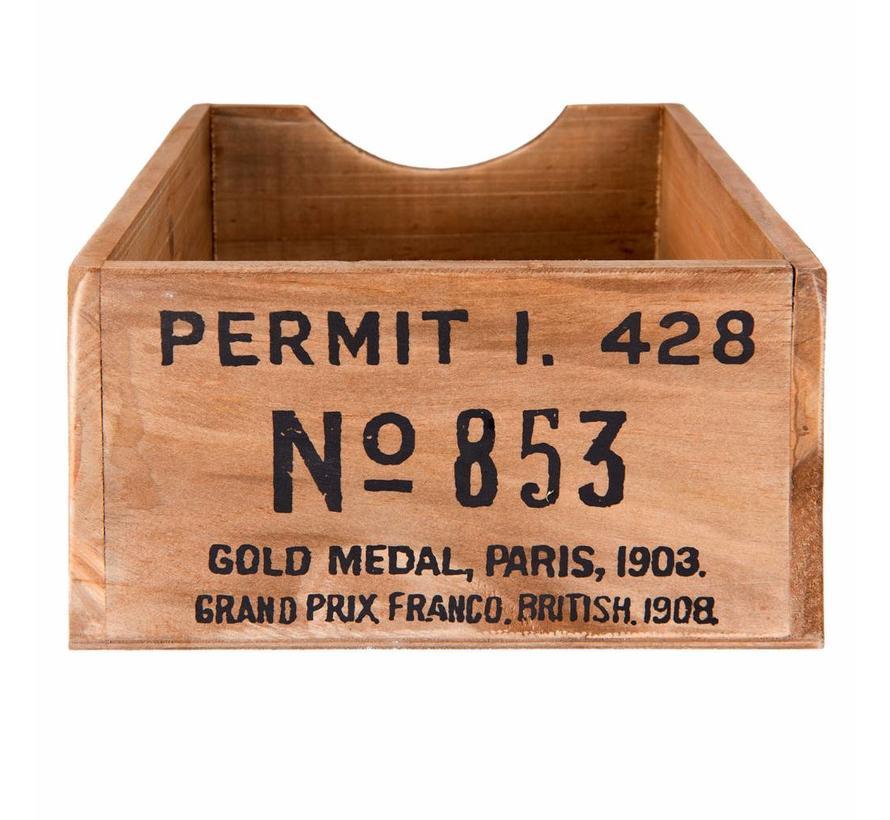 Holzchischtli | Vintage Box Braun