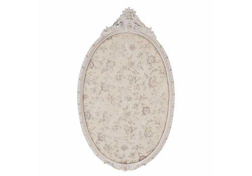 Clayre & Eef Pinwand - Memoboard | 64x39cm | Oval