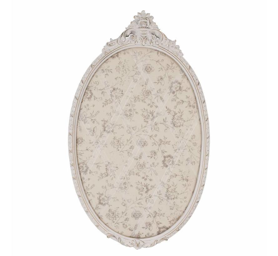 Pinwand - Memoboard | 64x39cm | Oval