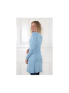 Sorgenfri Sylt Strickkleid | Agata-light blue