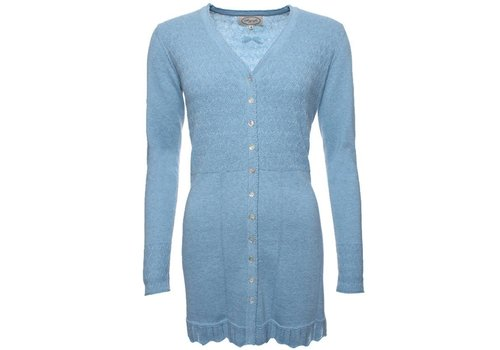 Sorgenfri Sylt Strickjacke | Agata-light blue
