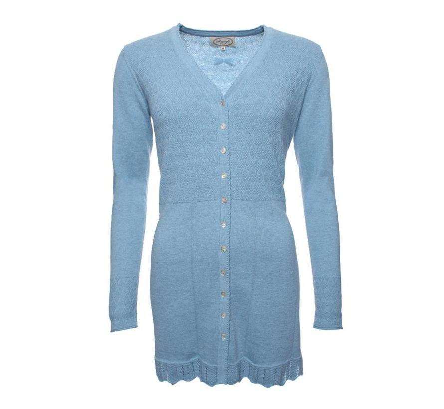 Strickjacke | Agata-light blue