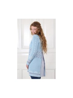 Sorgenfri Sylt Strickmantel | Gritta-light blue