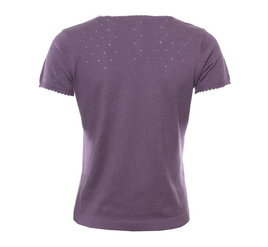 Shirt | Mona-mauve