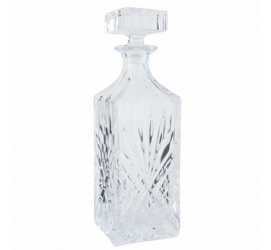 Whisky Flasche und Gläser Set | 7-Teilig