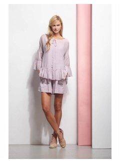 DEHA Bluse mit Unterkleid, mit Seide - in 2 Farben