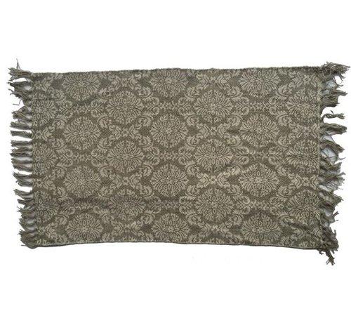 Vintage Teppich mit Ornamenten | 3 Grössen | Beige Grau
