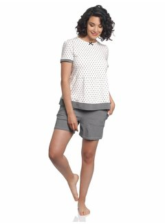 Vive Maria Pyjama | La Fillette Douce Short Pyjama | Cream