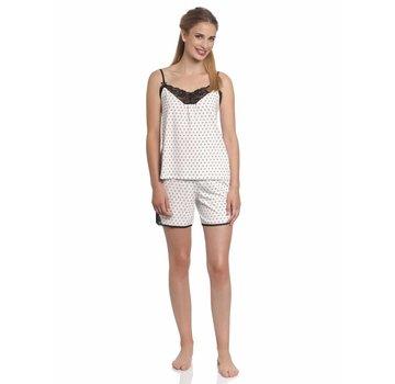 Vive Maria Pyjama | La Fillette Au Lit Short Pyjama | Cream