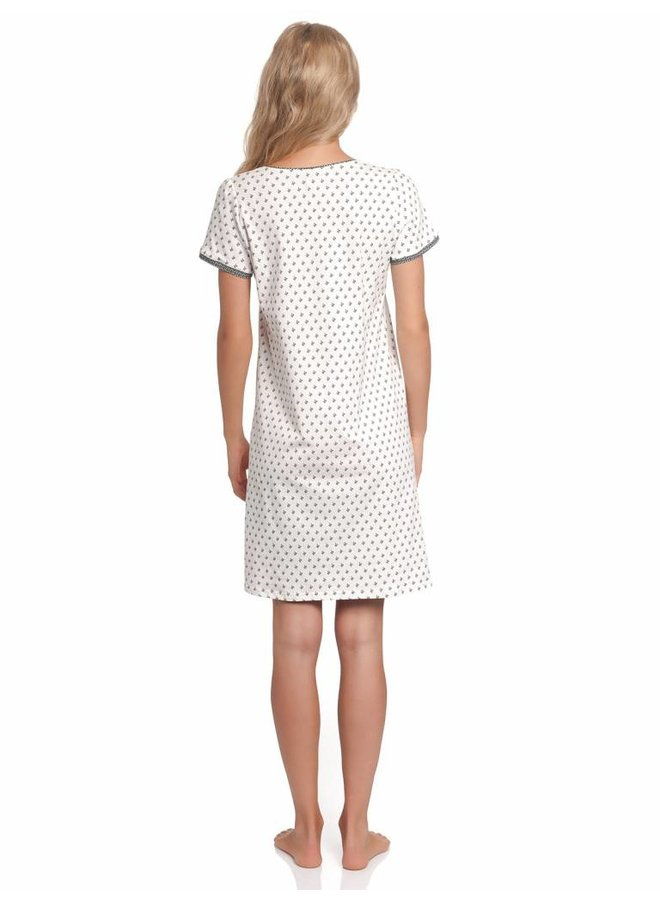 Nachthemd | La Fillette Douce Nightdress | Cream