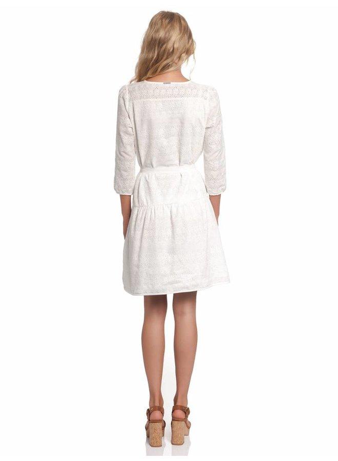 Kleid   Avignon Dress    White