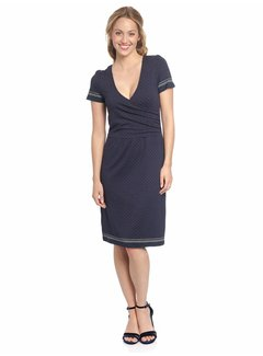 Vive Maria Kleid | Deauville Wrapdress  | Blue Allover