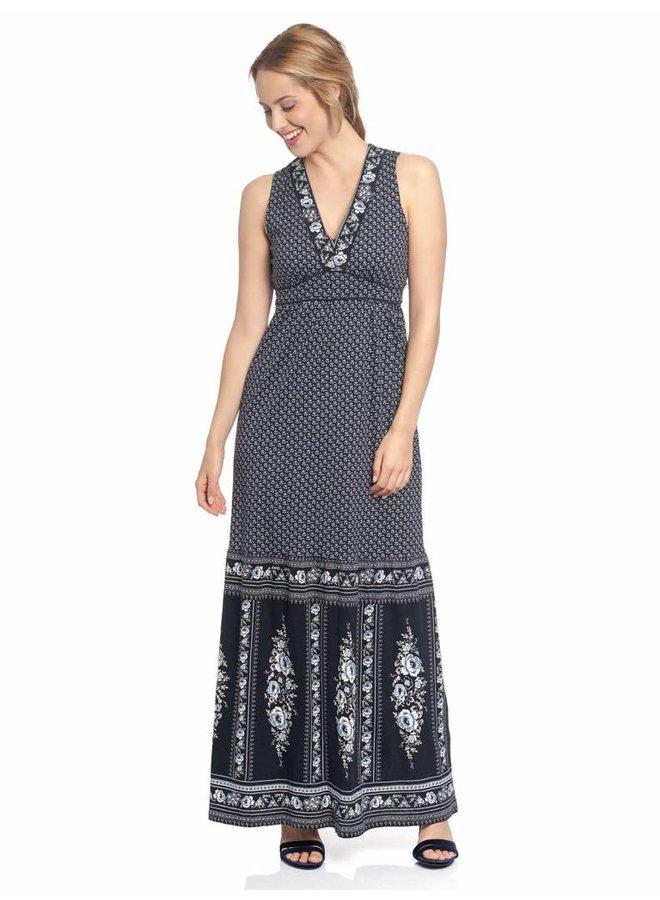Kleid   La Gitane Maxi Dress    Blue