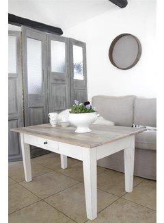 Jeanne d`Arc Living Salontisch mit Schublade | Shabby Chic
