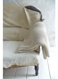 Jeanne d`Arc Living Tagesdecke | Überwurf | Leinenfarben - 130x170cm