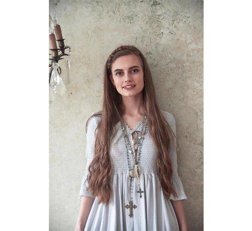 Jeanne d`Arc Living Kleid | Forever joyful - Grey