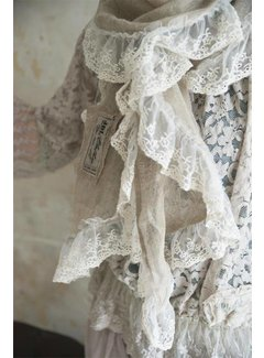 Jeanne d`Arc Living Schal aus Leinen | Natural graceful - Linen colored