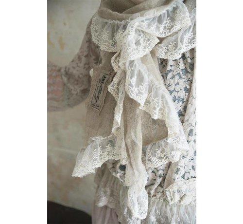 Jeanne d`Arc Living Schal aus Leinen | Natural graceful - Linen colored