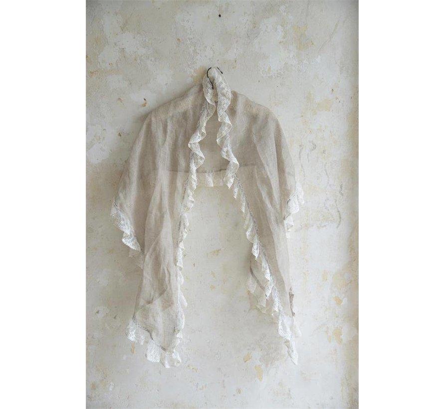 Schal aus Leinen | Natural graceful - Linen colored